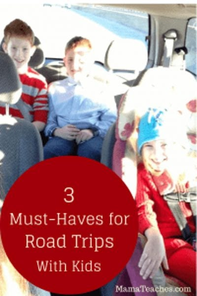 3 Must-Haves for Road Trips with Kids