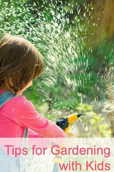 Tips for Gardening with Kids