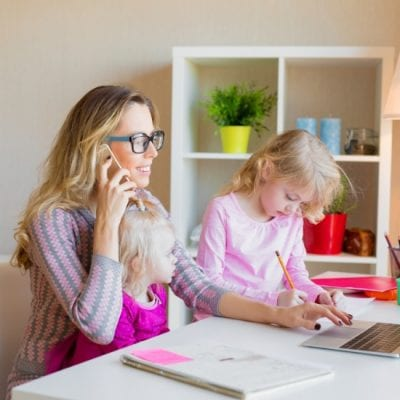 How to Work From Home and Homeschool