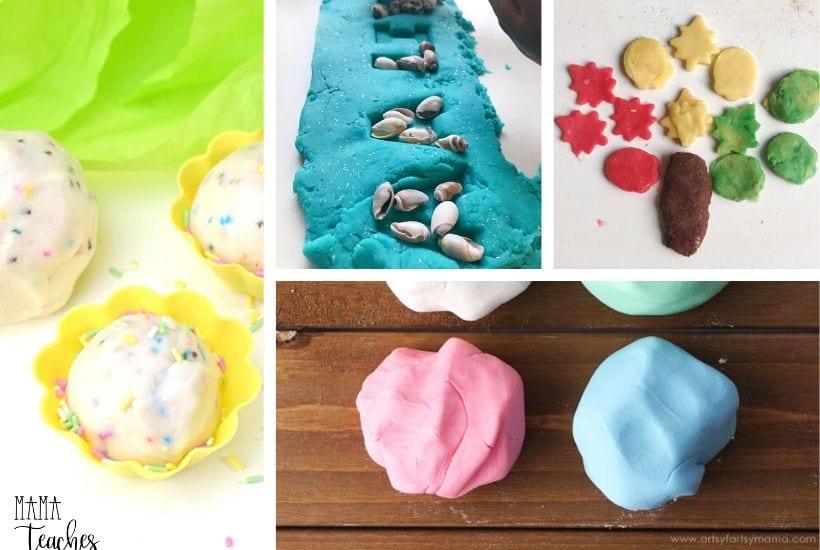 100 Best Homemade Playdough Recipes EVER - MamaTeaches.com