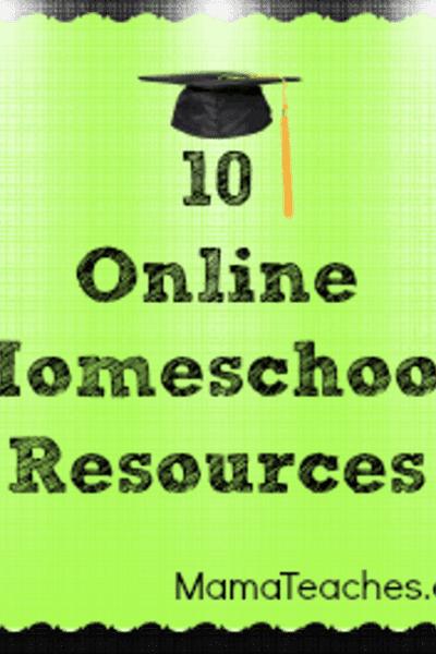 10 Online Homeschool Resources