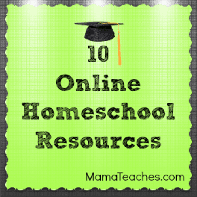 10 Online Homeschool Resources