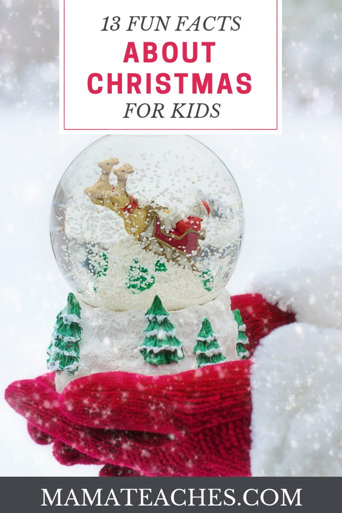 13 Awesome Fun Facts About Christmas for Kids