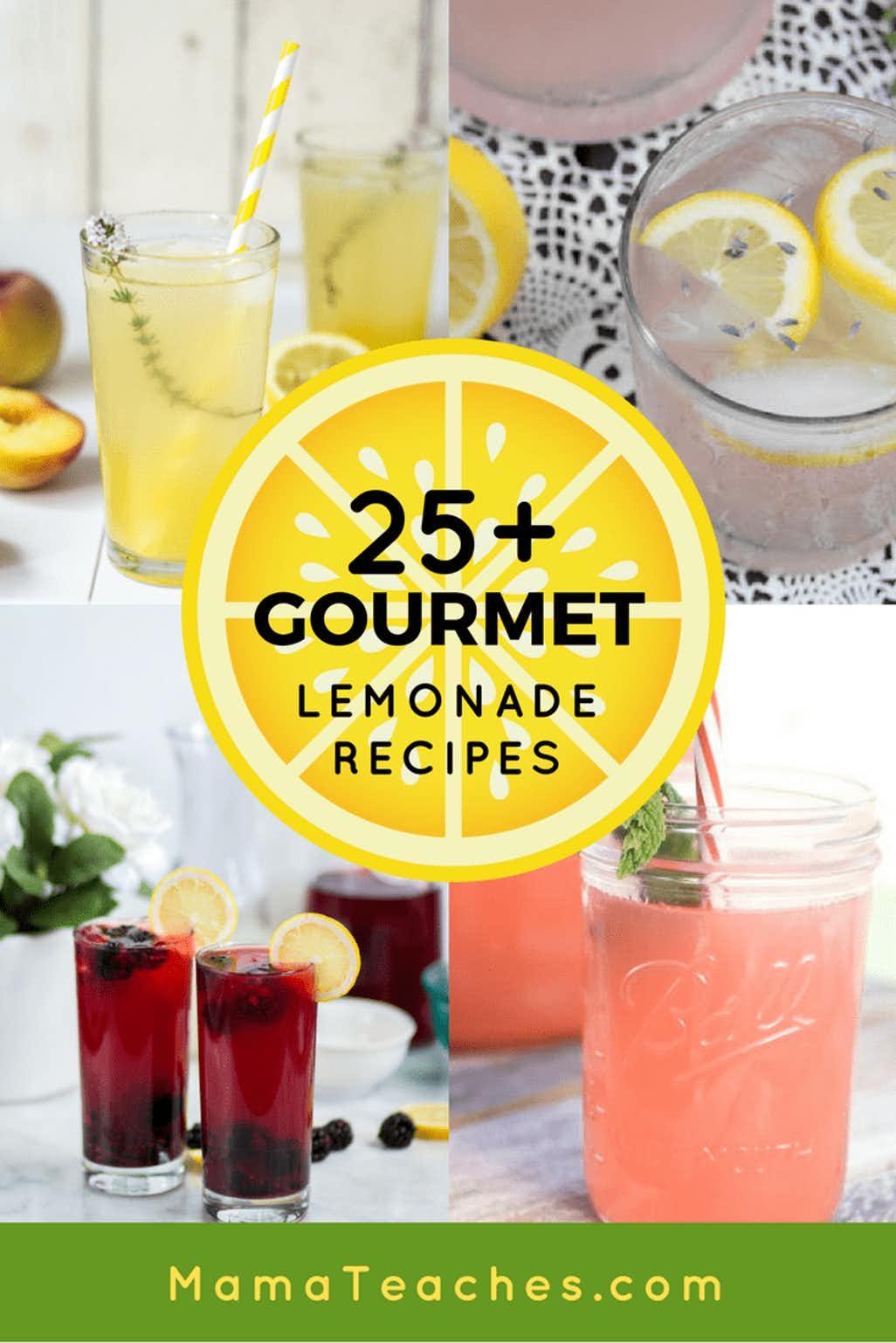 25+ Awesome Gourmet Lemonade Recipes