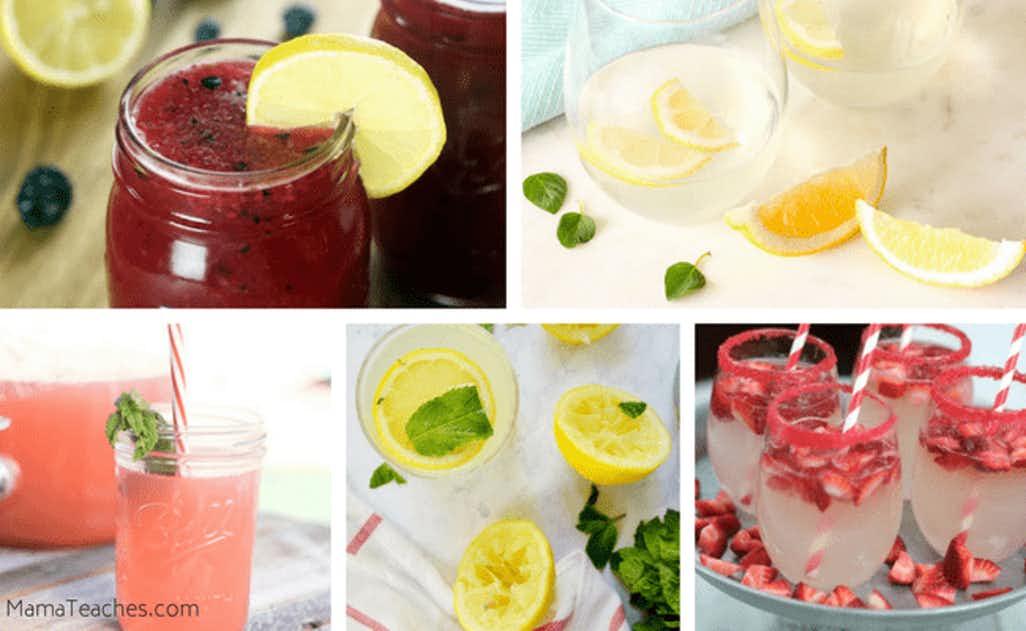 25+ Gourmet Lemonade Recipes