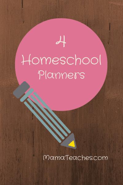 4 Homeschool Planners