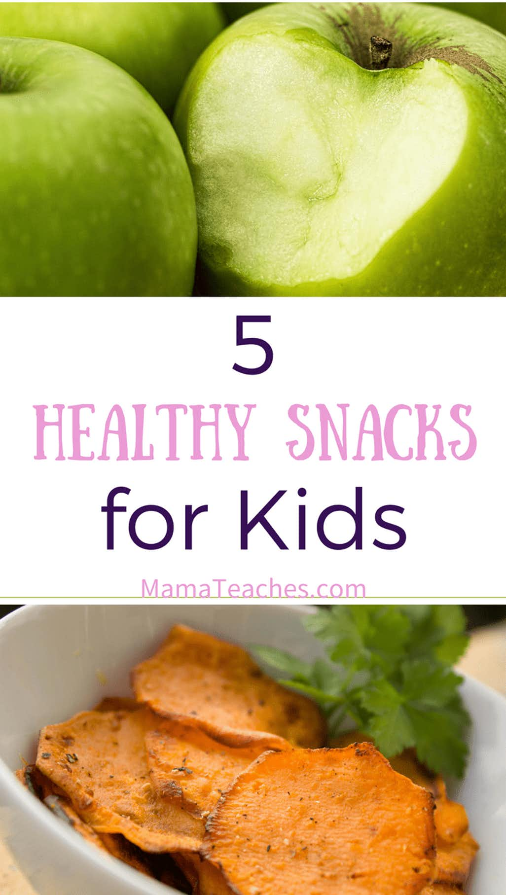 5 Delicious and Healthy Snacks for Kids