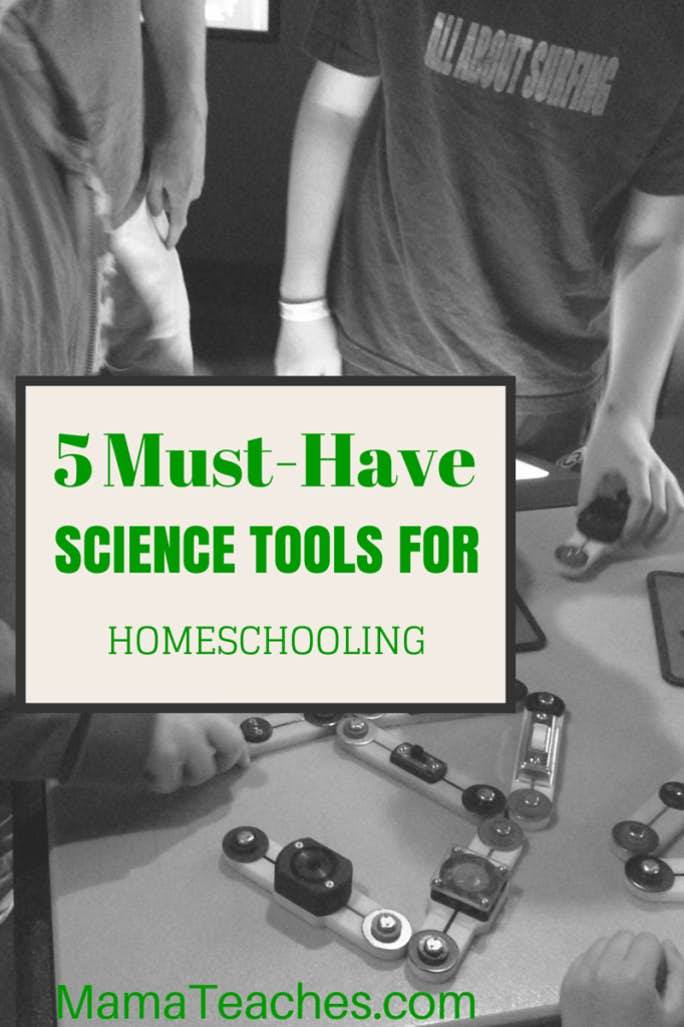 5 Science Tools For Homeschooling: A List of Must-Haves
