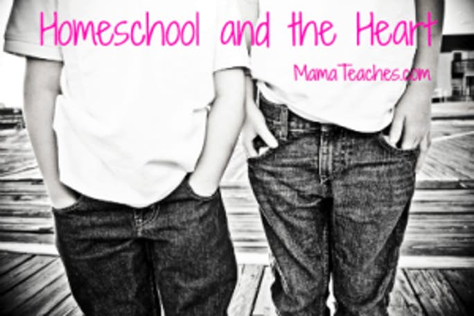 A Post About Heart and Homeschooling