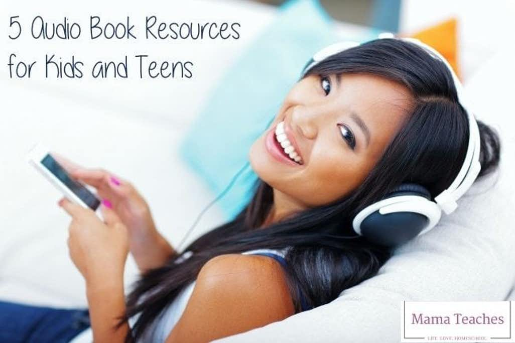 Audio Book Resources for Kids