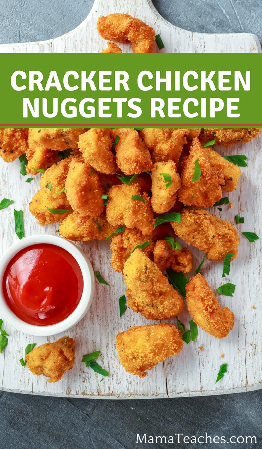 Cracker Chicken Nuggets Recipe