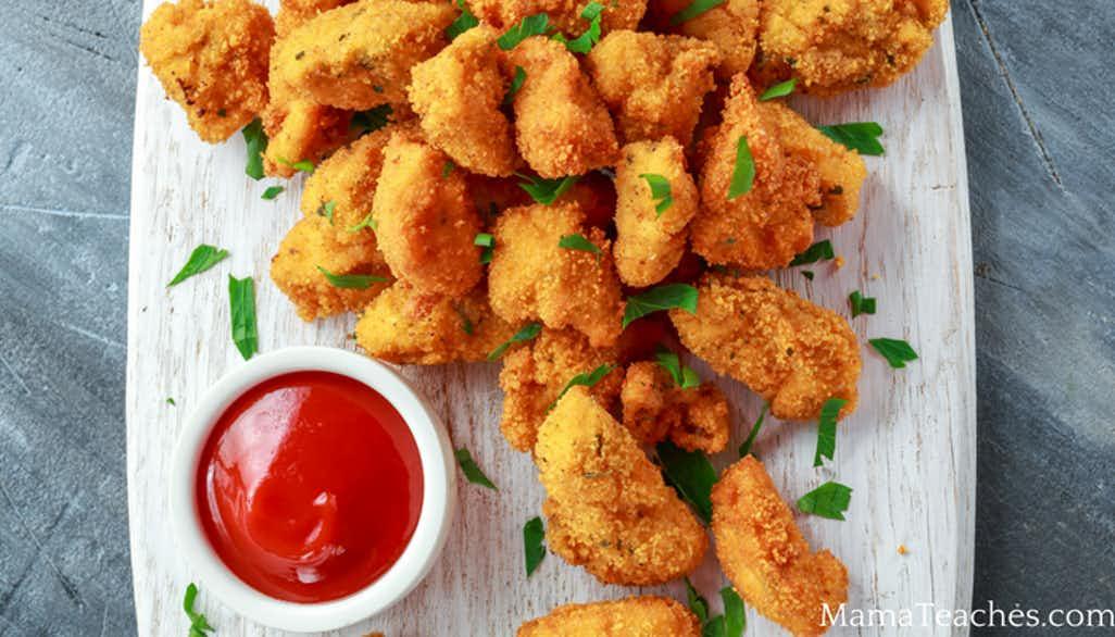 Cracker Chicken Nuggets