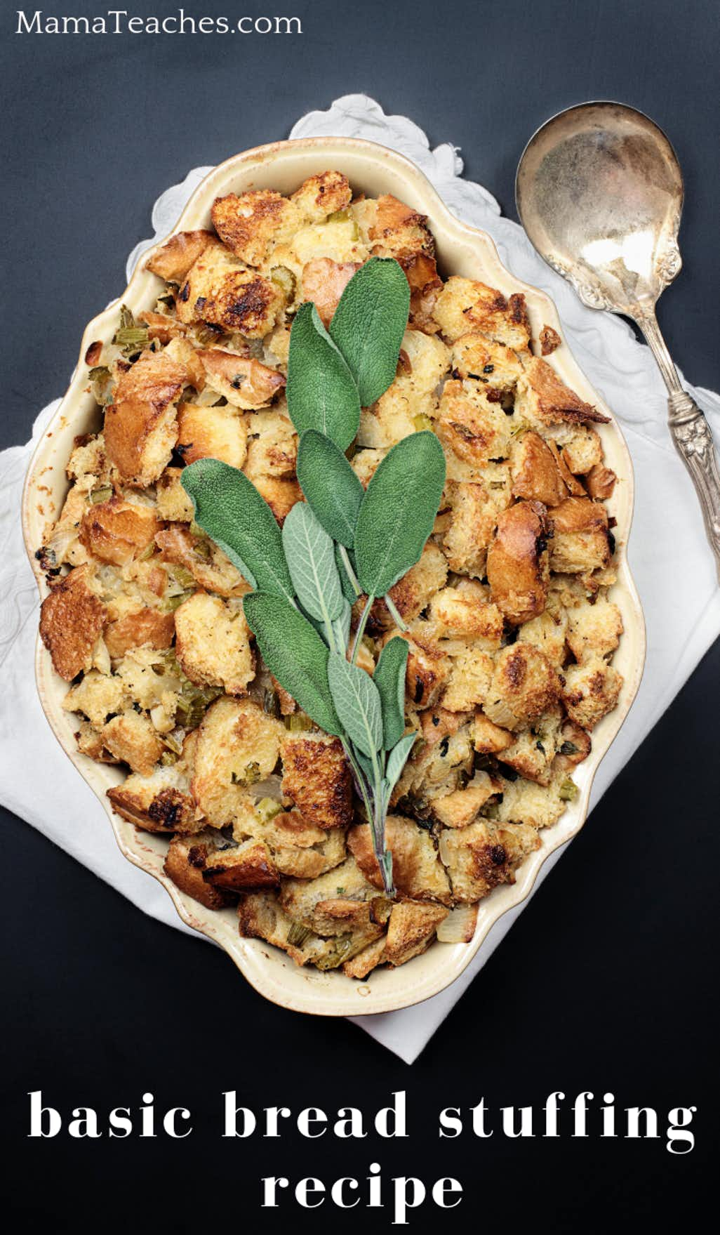 Easy Bread Stuffing Recipe the Whole Family will Love
