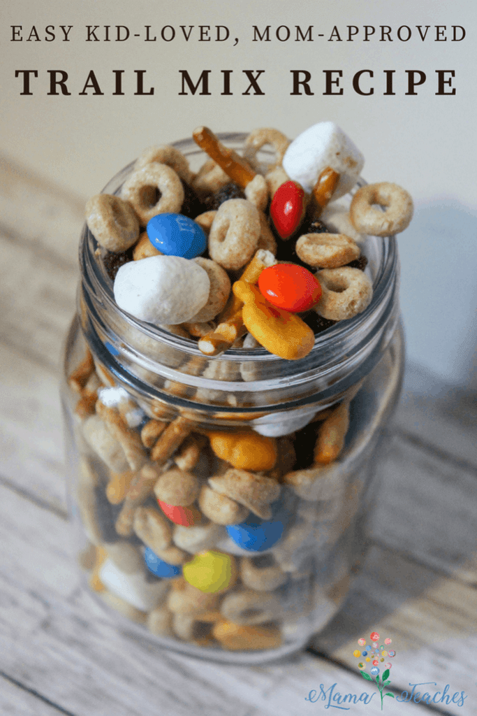 Easy Kid-Loved Mom-Approved Trail Mix Recipe for Kids