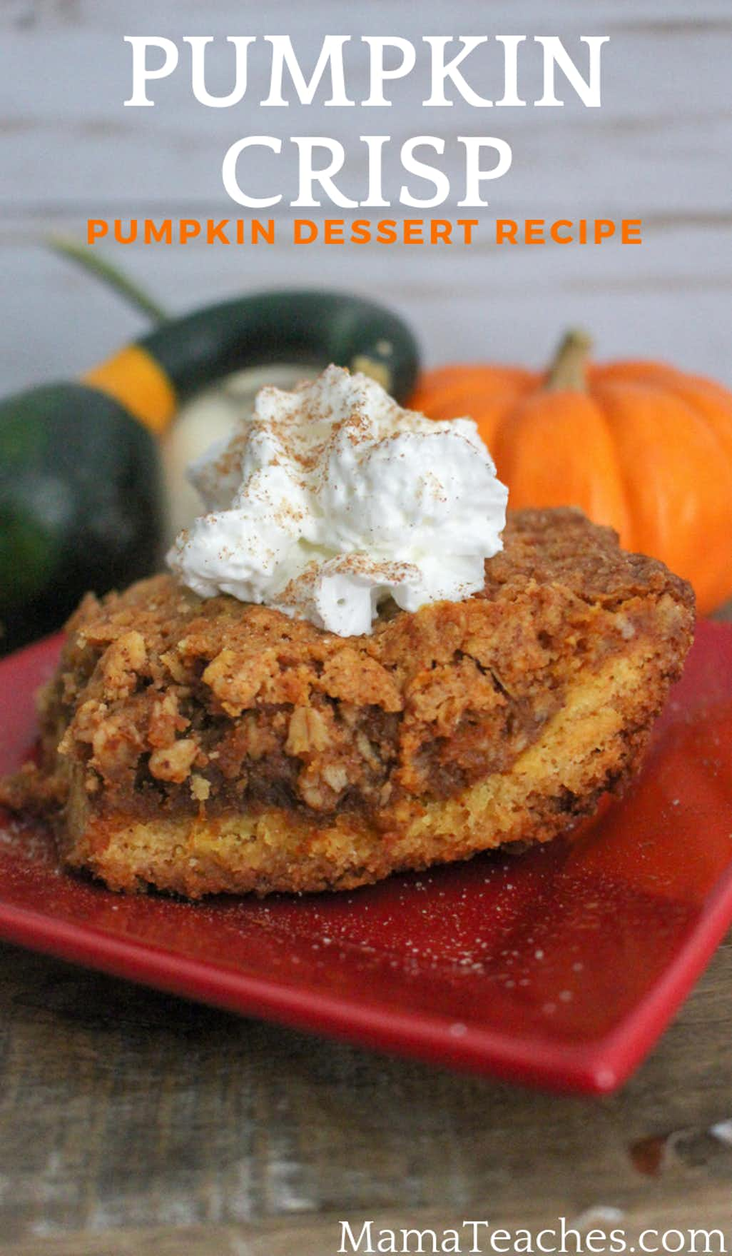 Easy Pumpkin Crisp Dessert Recipe