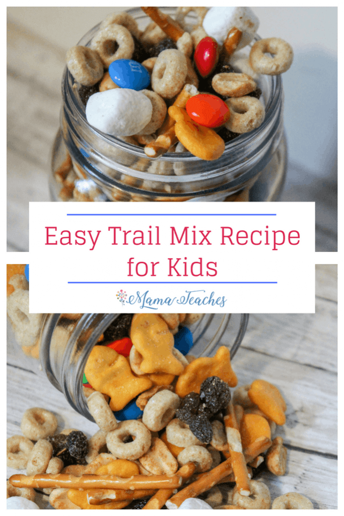 Easy Trail Mix Recipe for Kids