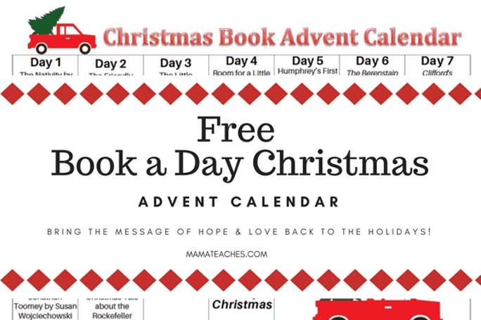 FREE BOOK A DAY ADVENT CALENDAR