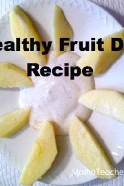 Healthy Fruit Dip Recipe