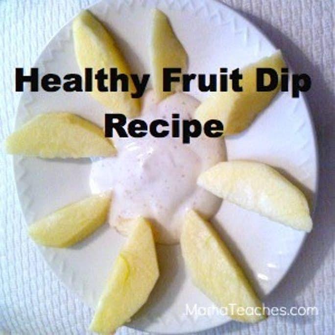 Healthy Fruit Dip Recipe