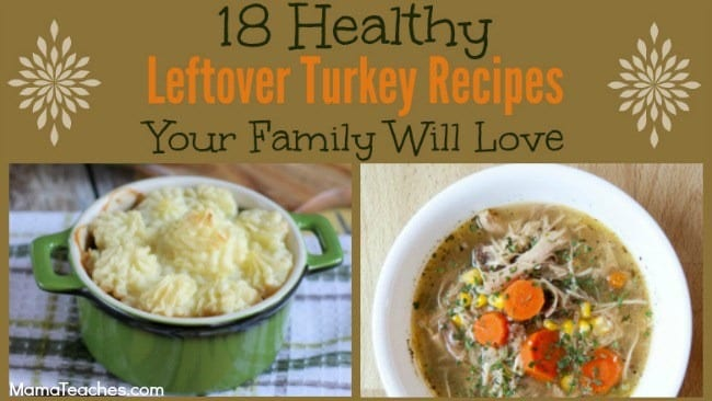 Healthy Thanksgiving Leftover Meals