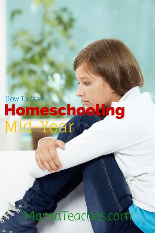 Homeschool: How to Start Homeschooling Mid-Year