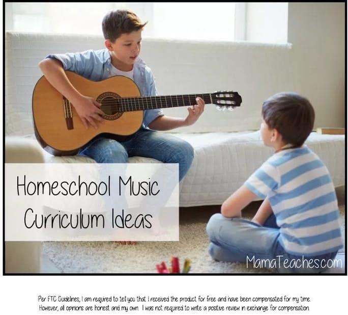 Homeschool Music Curriculum Ideas