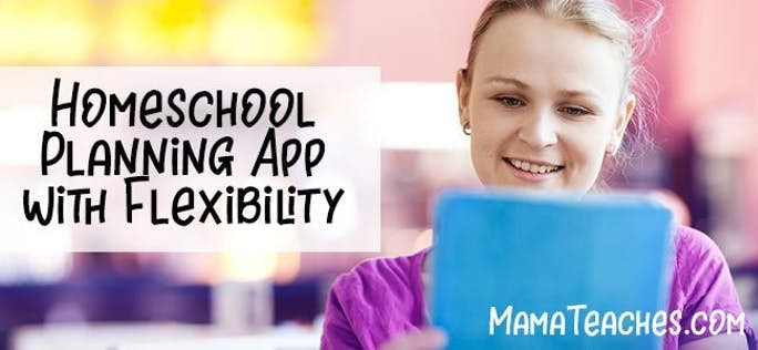 Homeschool Planning App with Flexibility for Busy Families