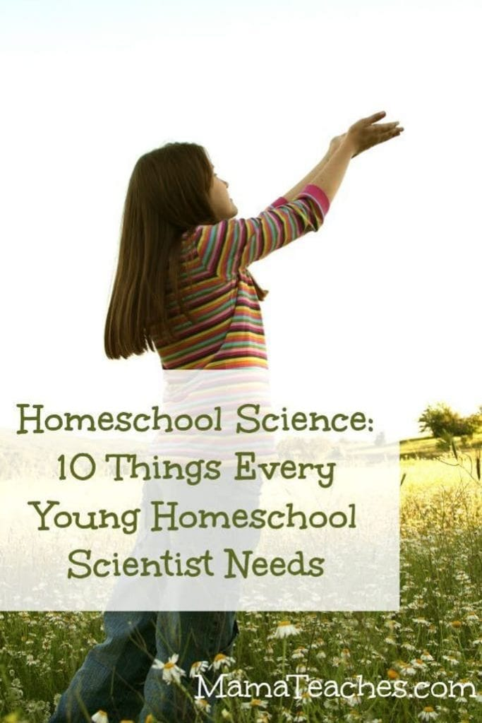 10 Things Every Young Homeschool Scientist Needs