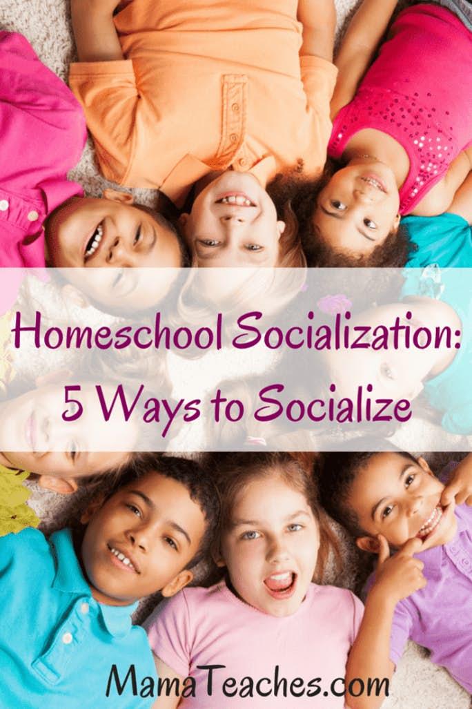 Homeschool Socialization: 5 Ways to Socialize