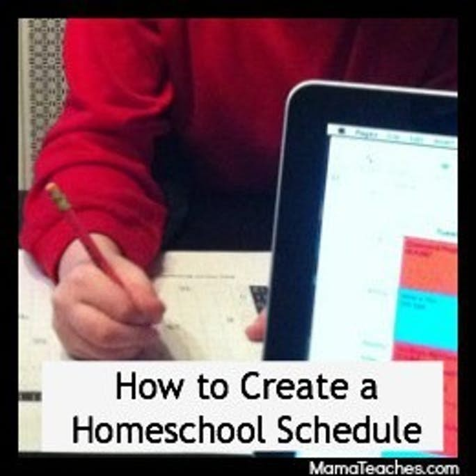 How to Create a Homeschool Routine and Schedule