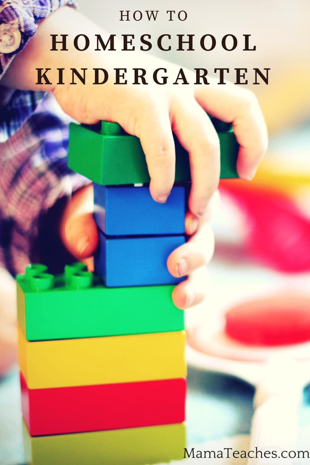 How to Homeschool Kindergarten Successfully