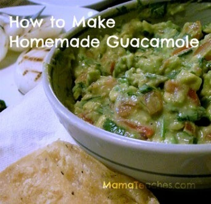 How to Make Guacamole at Home