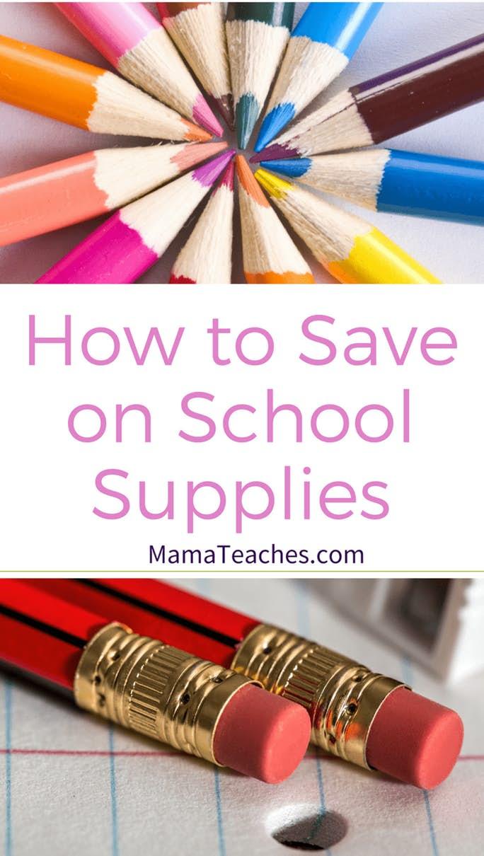 Money on School Supplies