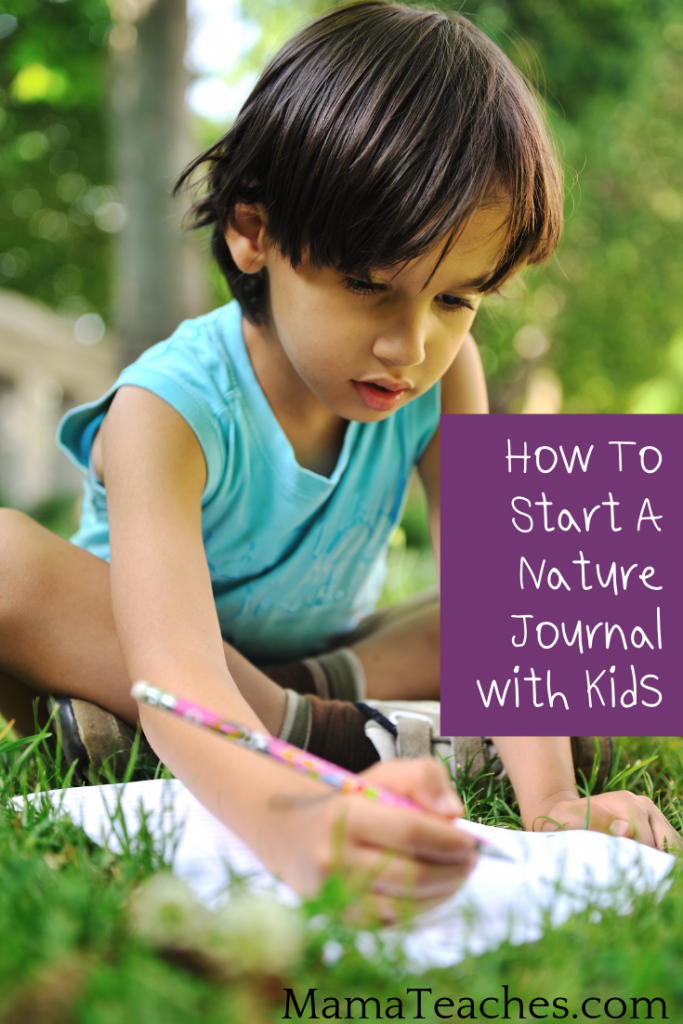 How to Start a Nature Journal with Kids