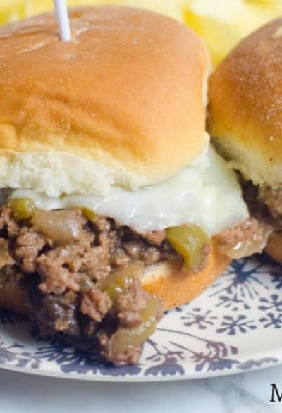 Instant Pot Philly Cheesesteak Sliders Recipe
