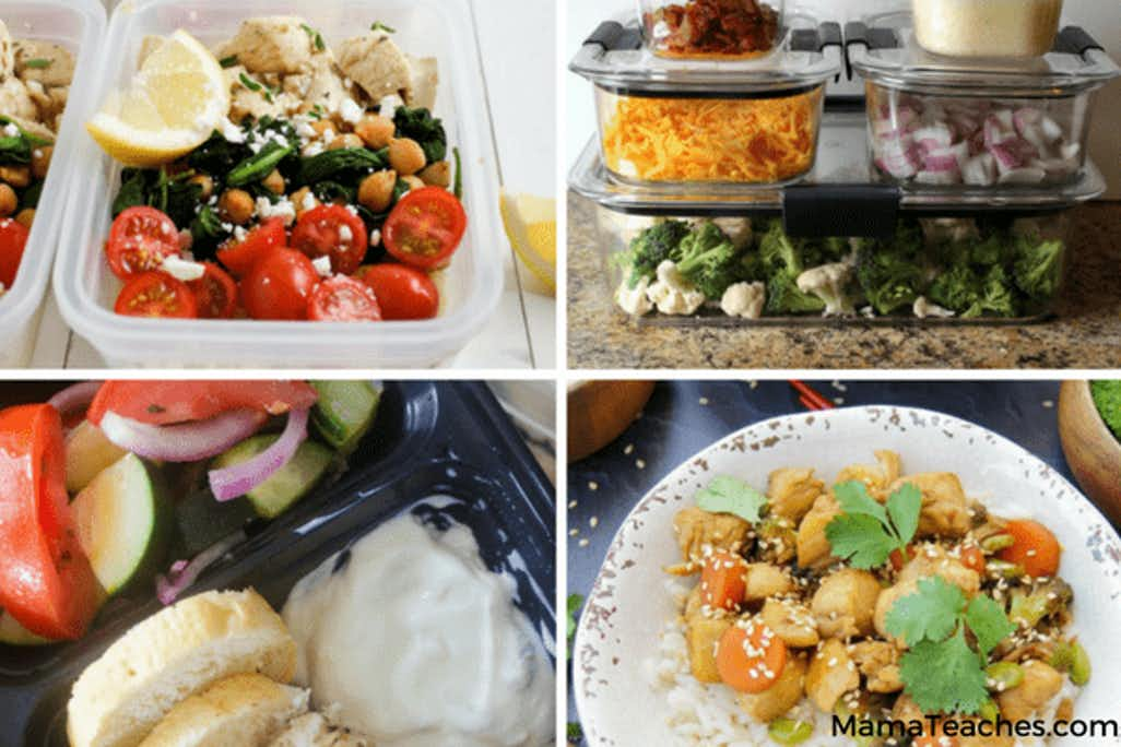 Meal Planning: Quick Lunches