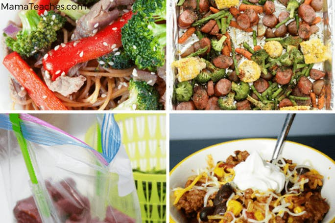 Meal Planning Quick and Easy Dinners