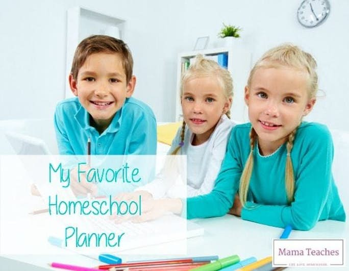 My Favorite Homeschool Planner