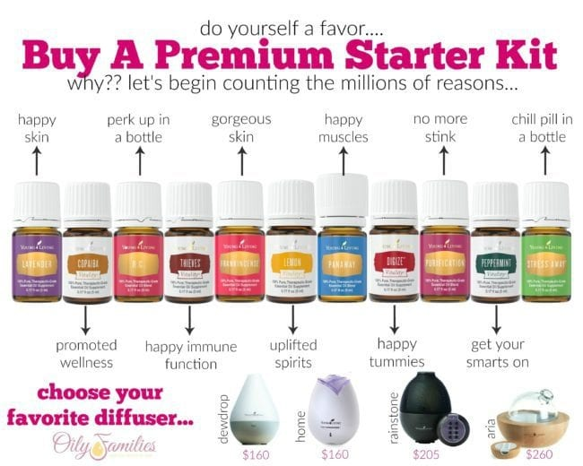 Our Oily Way of Life with Young Living Essential Oils