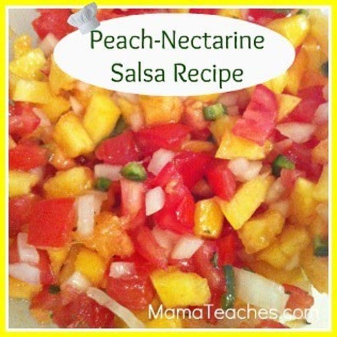 Peach Nectarine Salsa Recipe