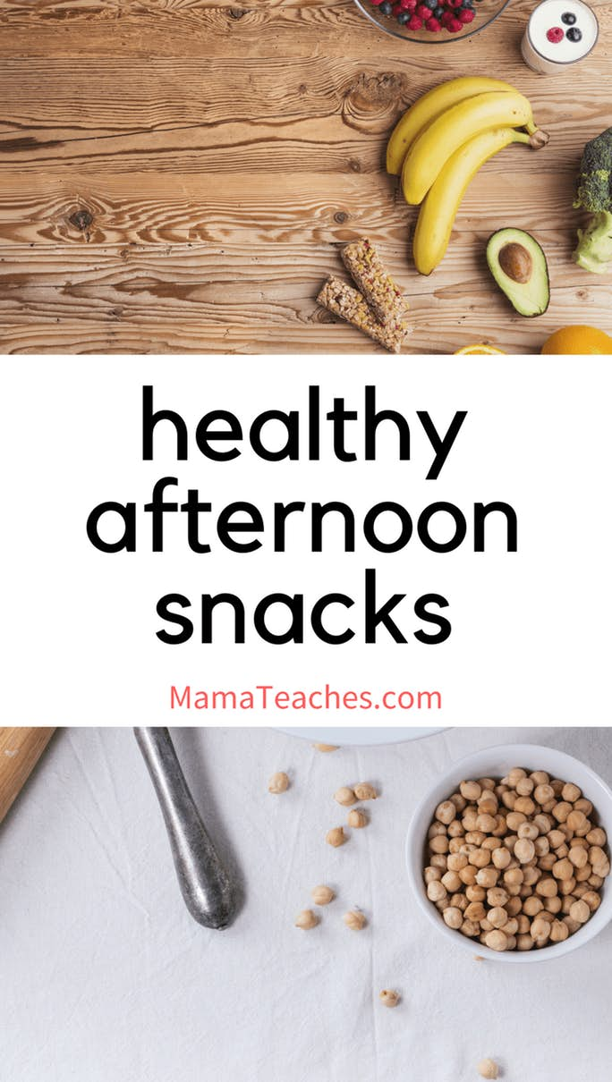 Healthy Snacks for Afternoon Snacking