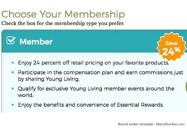 Step 2 in How to Order a Young Living Premium Starter Kit