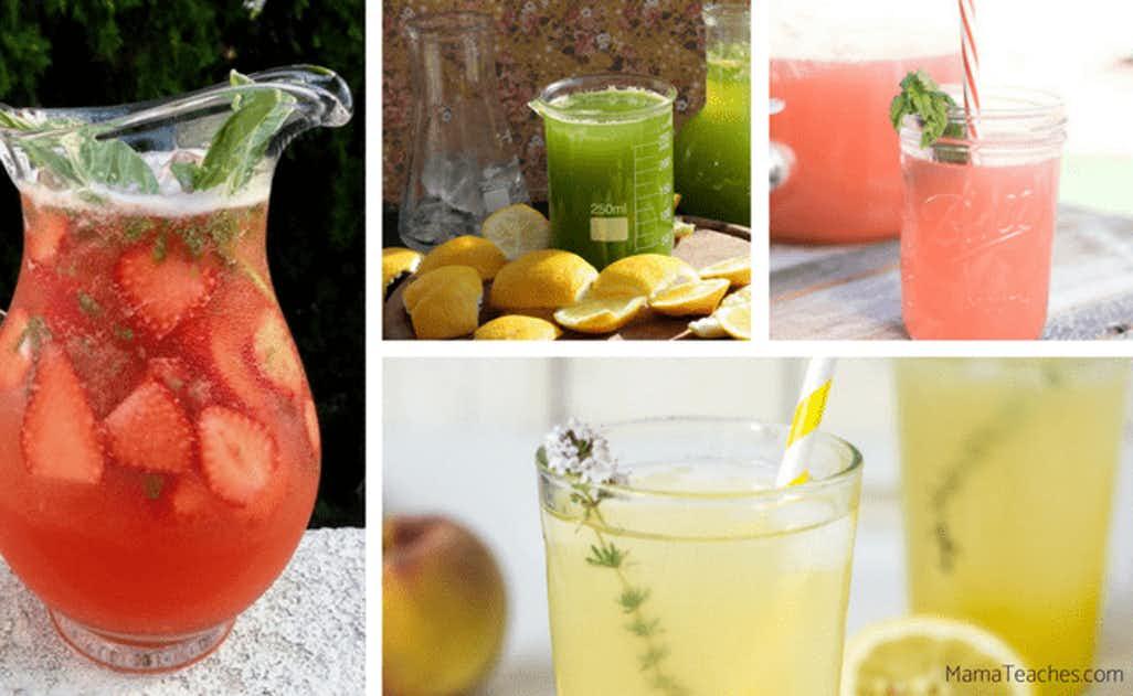 Super Awesome Gourmet Lemonade Recipes