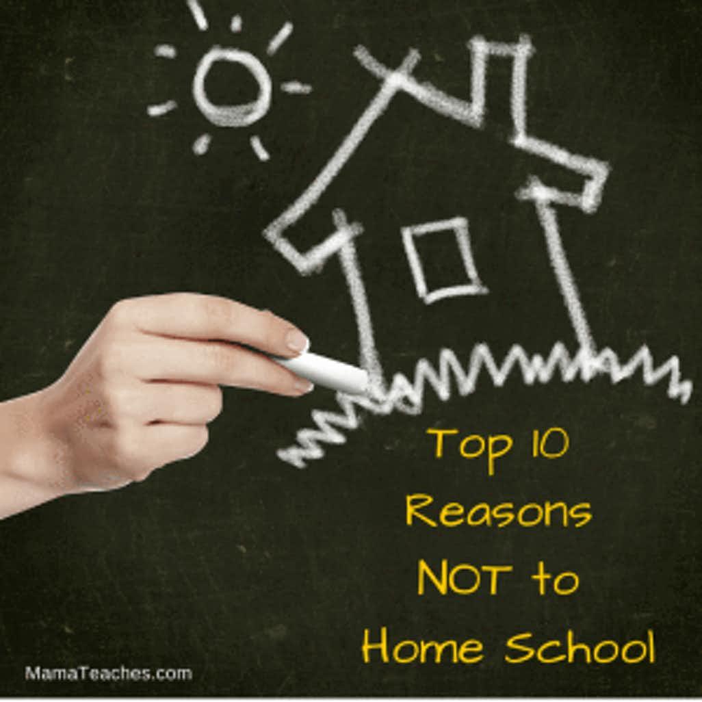 Top 10 Reasons Not to Homeschool