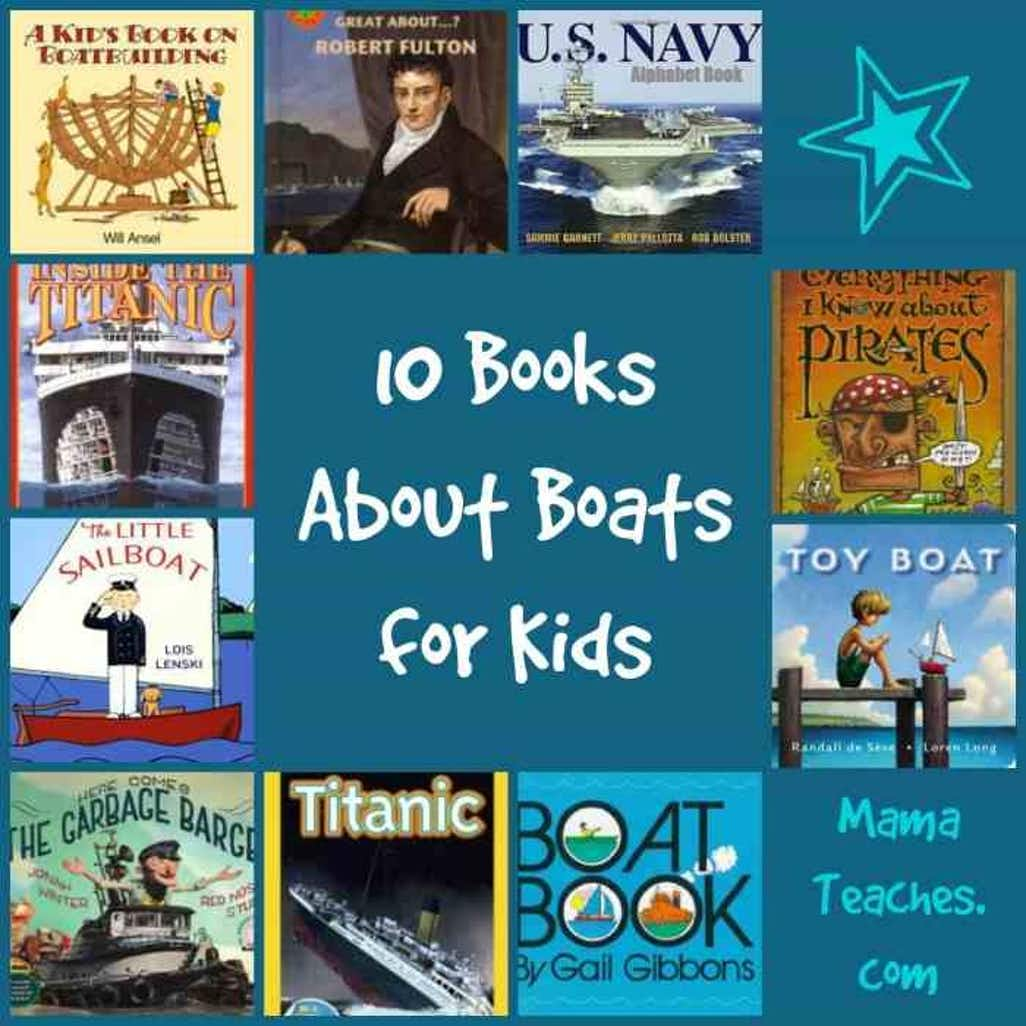 10 Books About Boats for Kids