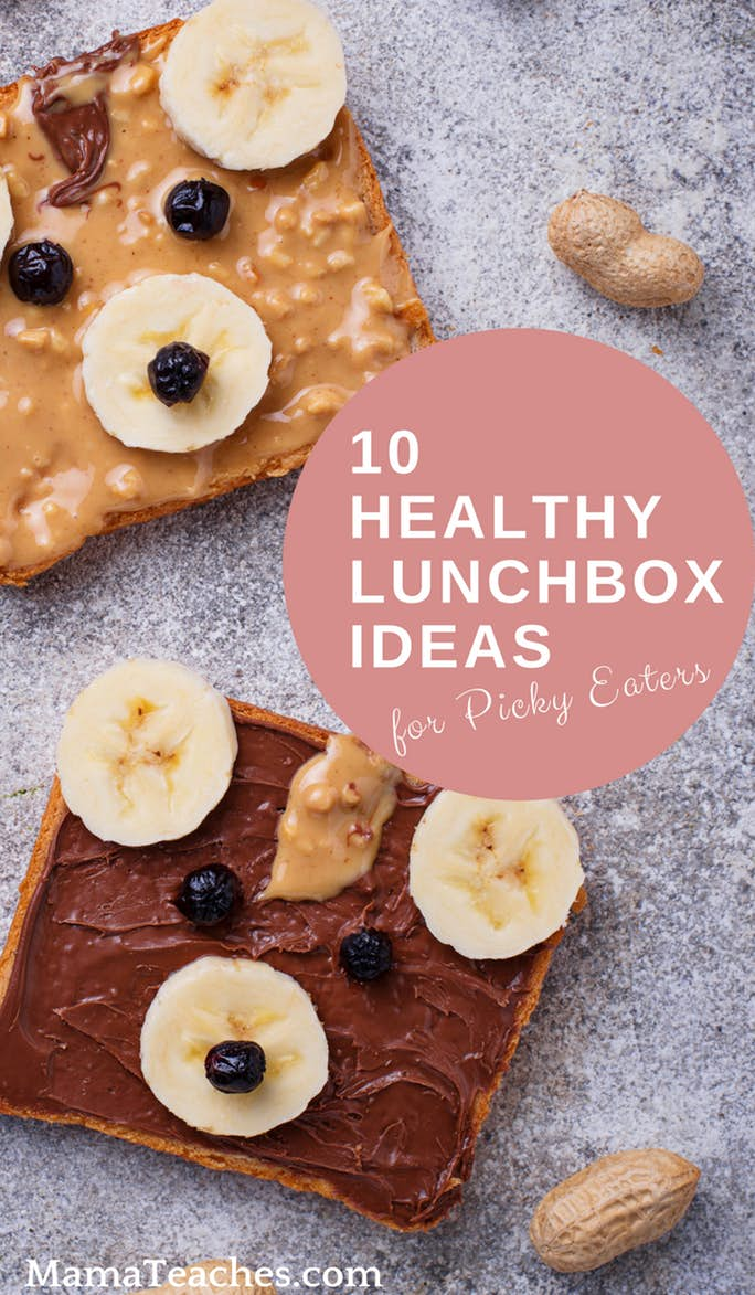 10 Healthy Lunchbox Ideas for Picky Eaters