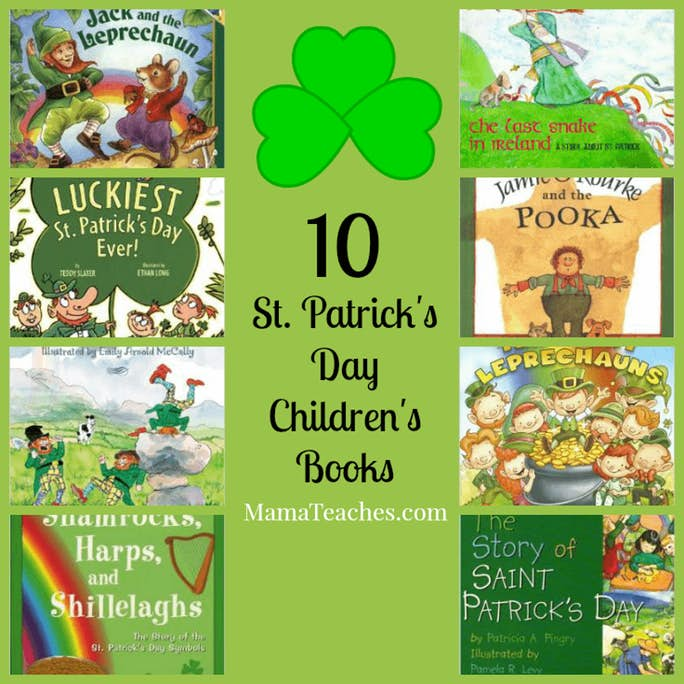 10 St. Patrick's Day Children's Books