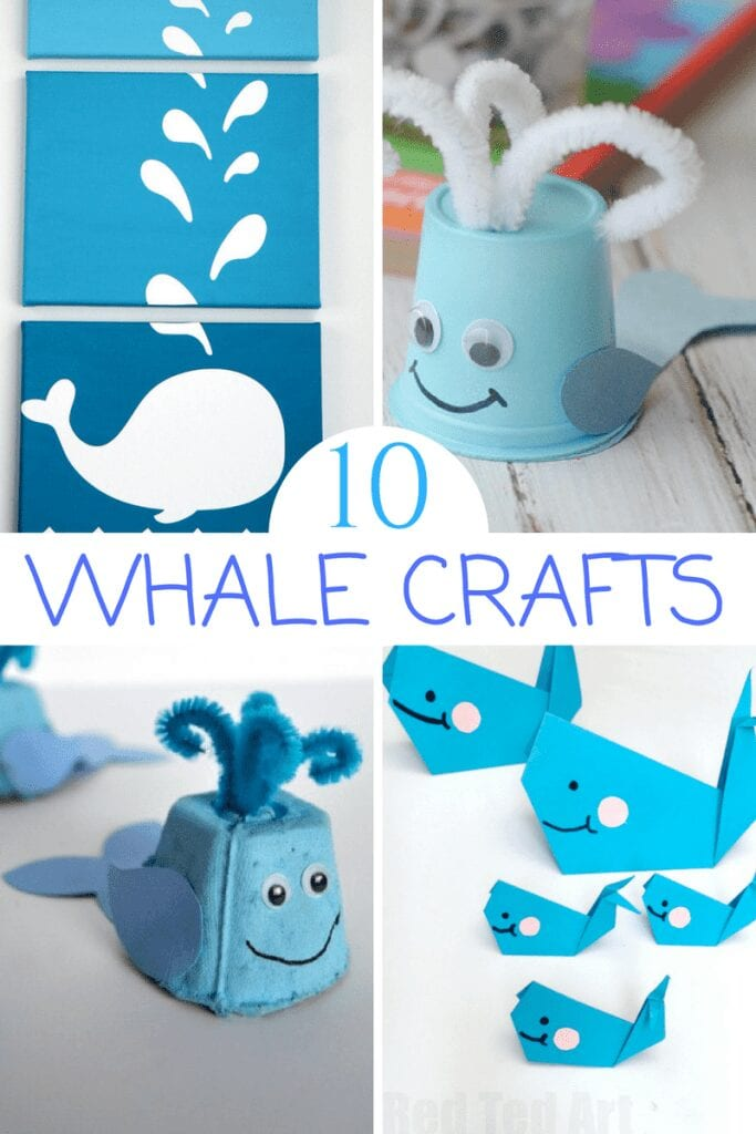 10 Whale Crafts for Kids