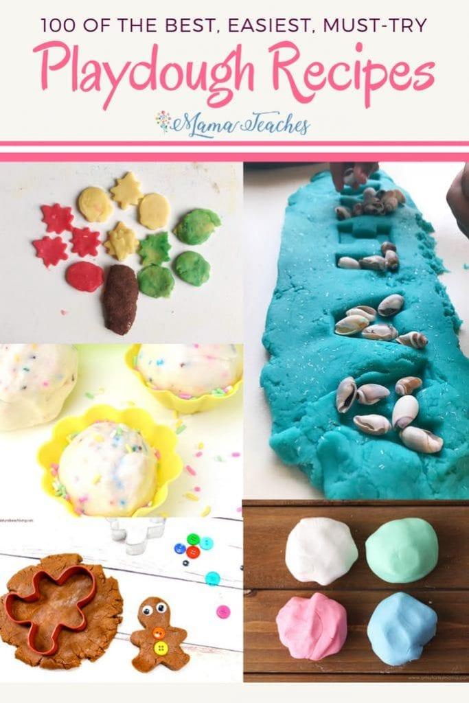 100 Best Playdough Recipes for Kids