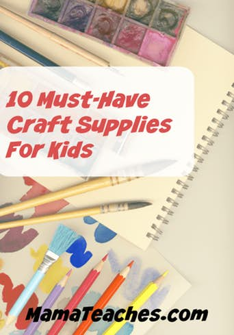 10 Must-Have Craft Supplies for Kids